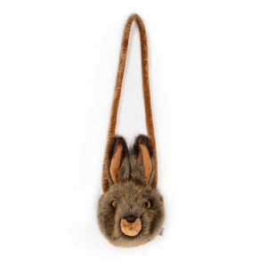 Plush hare purse