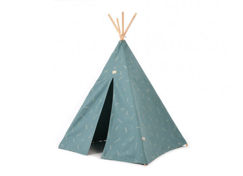 Phoenix teepee 149x100 gold secrets/ magic green