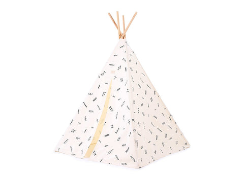 Phoenix teepee - black secrets/ natural