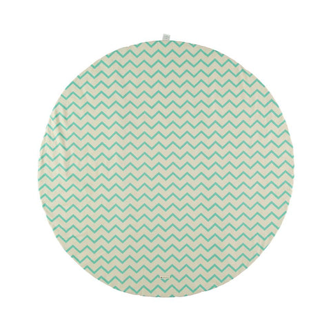 Apache play mat zig zag green - small