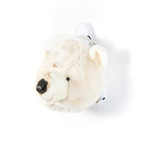 Plush Backpack Bag Polar Bear