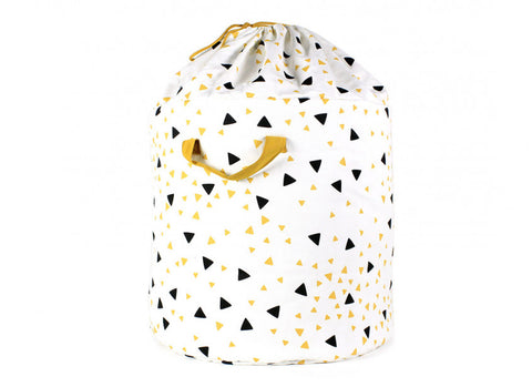 Baobab toy bag black honey sparks - 2 sizes