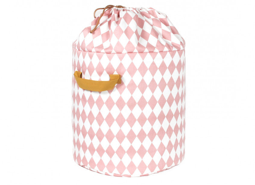 Baobab toy bag pink diamonds - 2 sizes