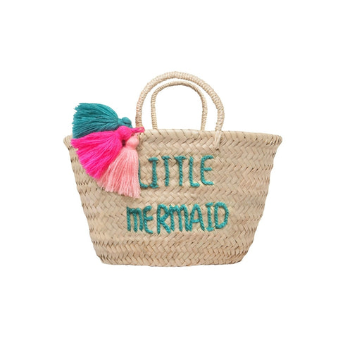 Basket Pompon Little mermaid