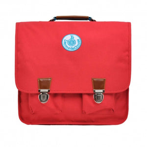 Large School Bag Red