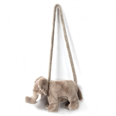 Plush elephant purse