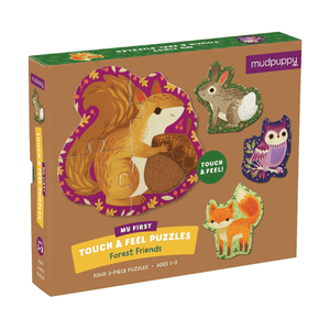 Forest Friends My First Touch & Feel Puzzle