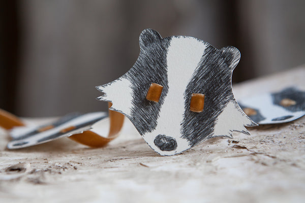 Badger Headdress