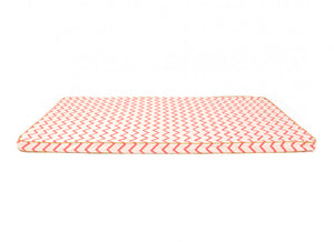 Saint Tropez floor mattress zig zag pink