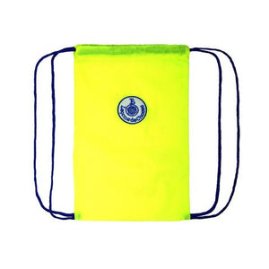 Parachute canvas bag - fluo yellow