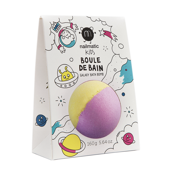 Colouring and soothing bath bomb for kids - Spoutnik