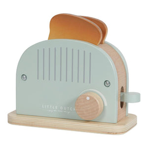 Little Dutch Wooden toaster set – 10 pcs