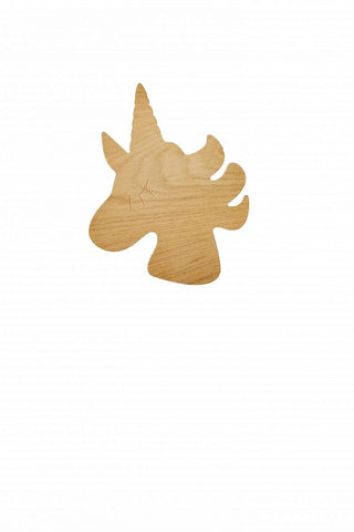 Wooden unicorn light