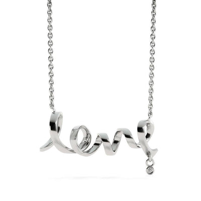 """To My Daughter"" Scripted Love Necklace (From Dad) - Jennifer Stone Co."