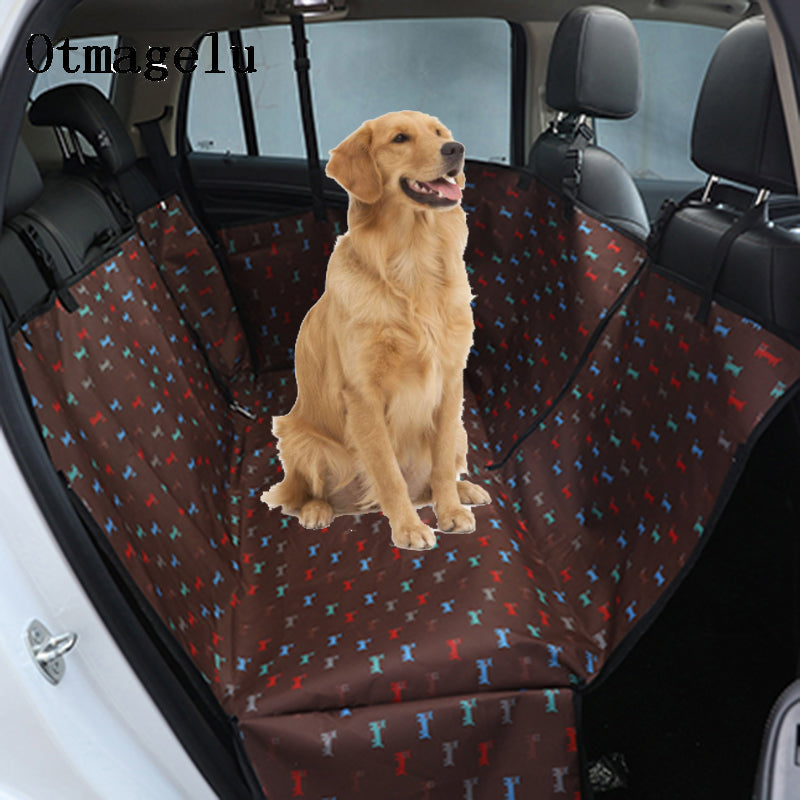 Pet Car Rear Seat Covers For Big Dogs Waterproof Bench Interior Travel Accessories Dog
