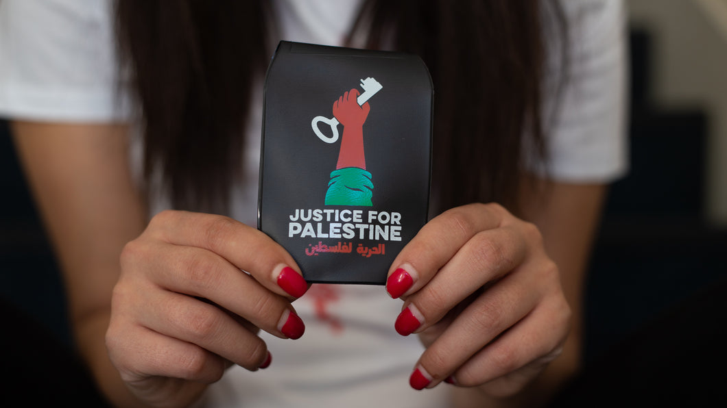Travelcard Holder 'Justice for Palestine'