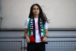 Free Palestine Knitted scarf