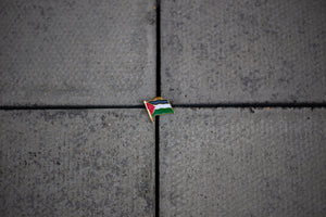 Palestine Flag Enamel Pin Badge