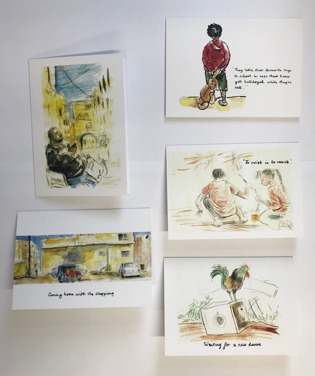 Greetings Cards - Illustrated Palestine Mix