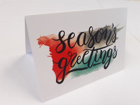 Greetings Card - Seasons Greetings