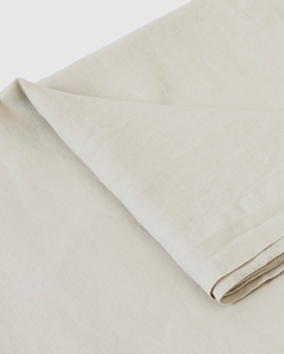 Babette Linen Tablecloth in Dove Gray