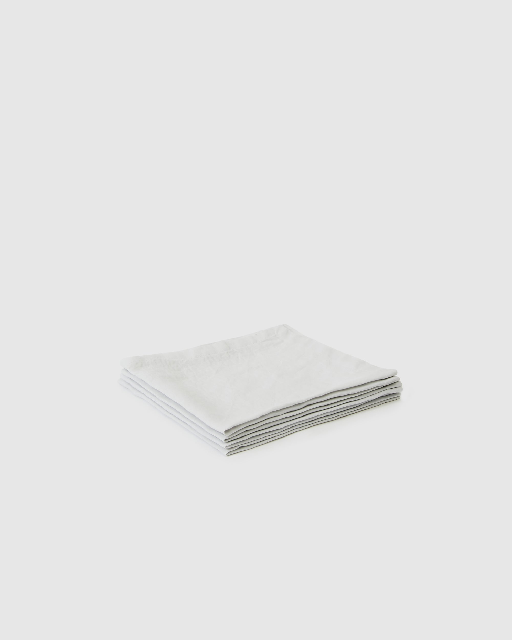 Berkeley Linen Table Napkins (Set of 4) - Glacier