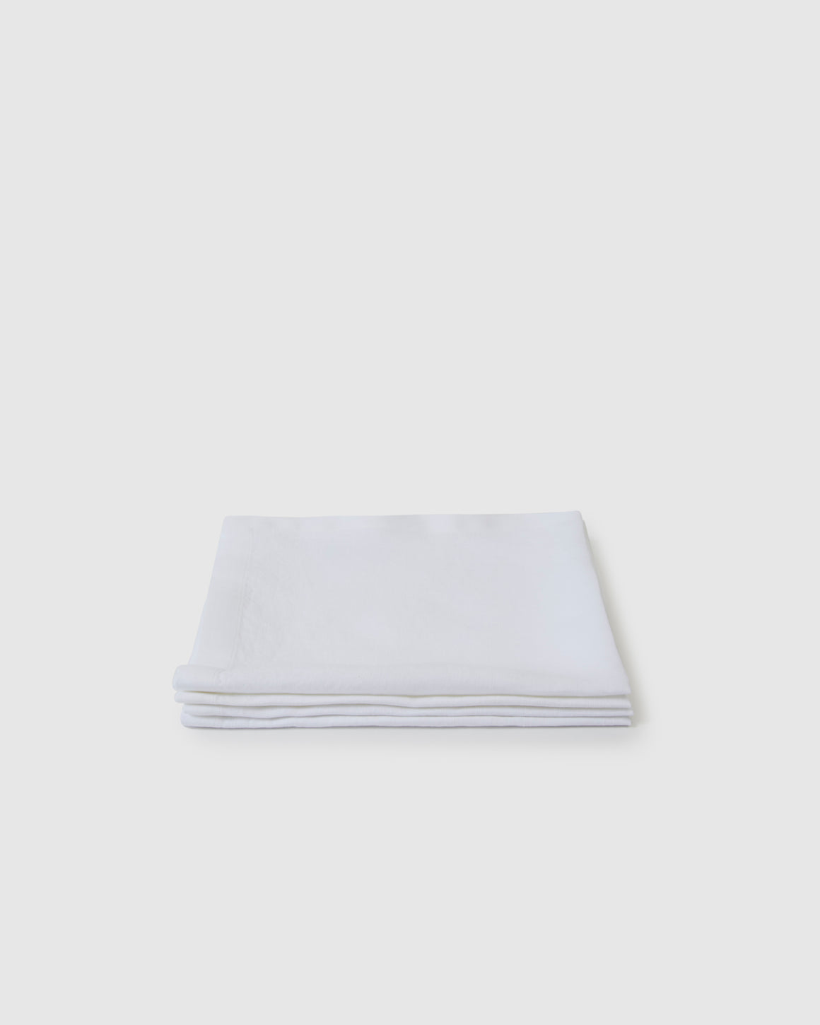 Berkeley Linen Table Napkins (Set of 4) - Milk