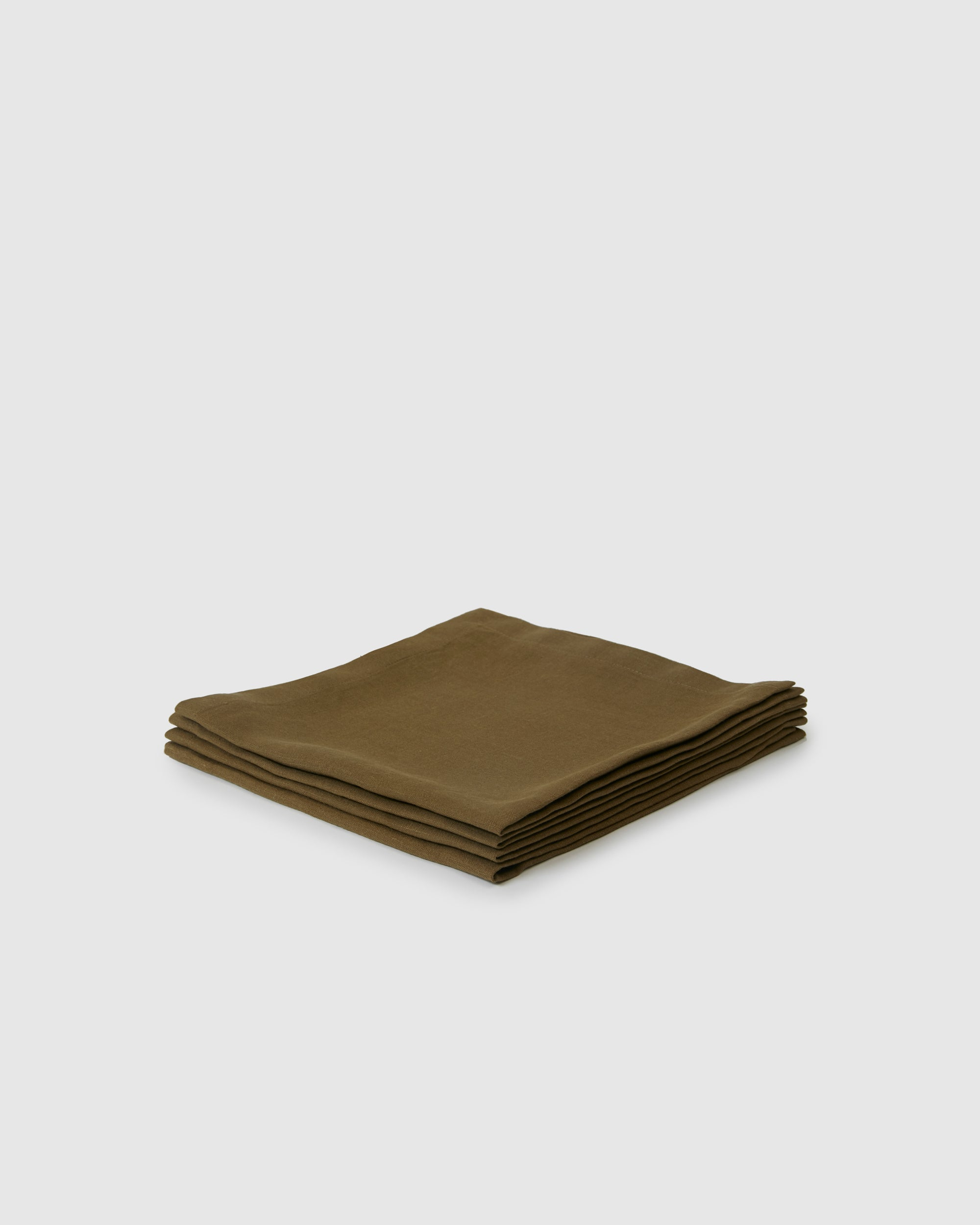 Berkeley Linen Table Napkins  (Set of 4) - Moss