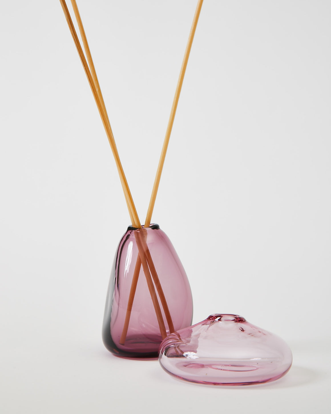 Kelly Droplet Bud Vase - Plum