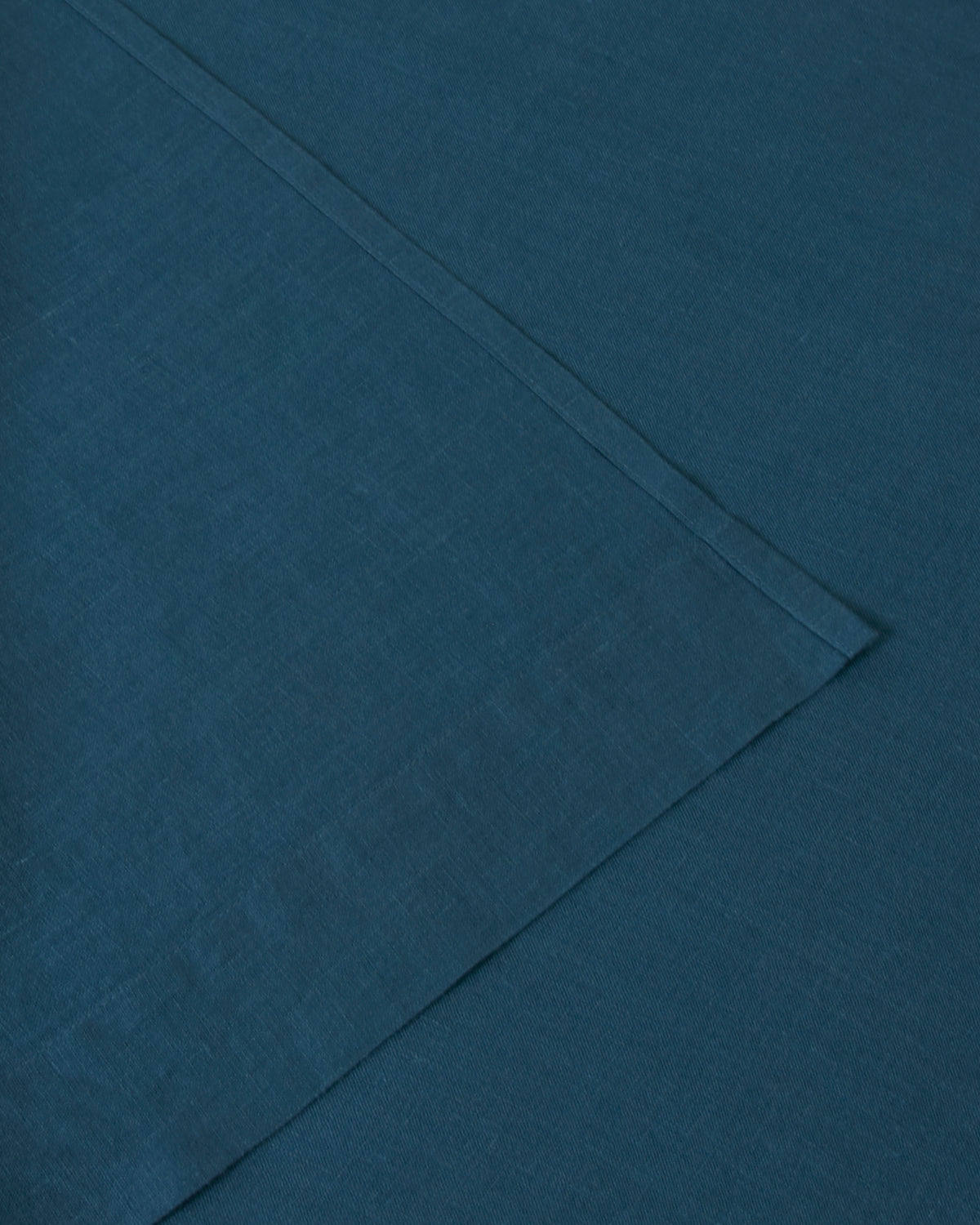 Marcel Linen Fitted Sheet - Adriatic