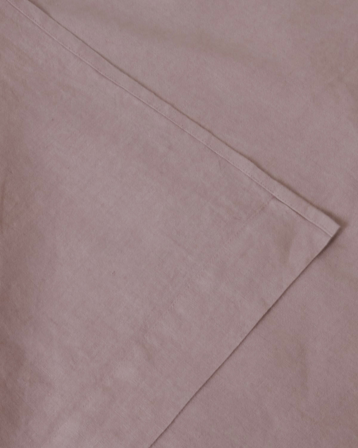 Marcel Linen Fitted Sheet - Orchid