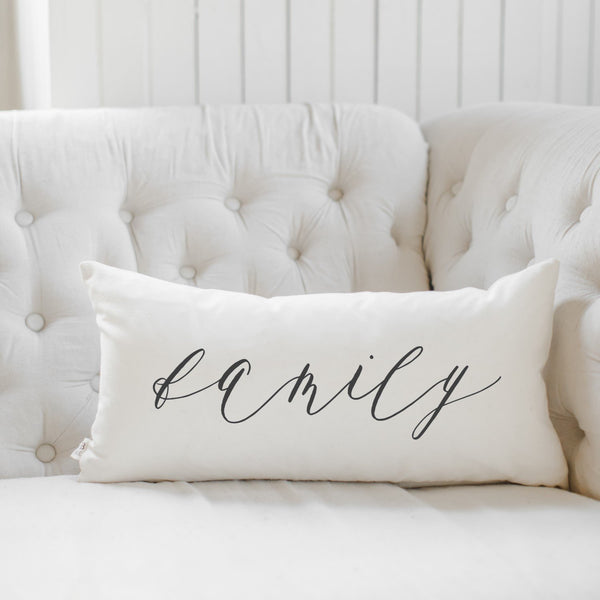 Family Lumbar Pillow