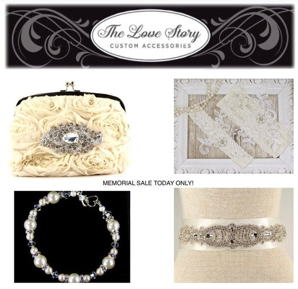 Wedding Dance Bag. White Charmeuse Silk Wristlet Clutch Purse with Stunning Swarovski Crystal Accent, money dance bag. The Love Story