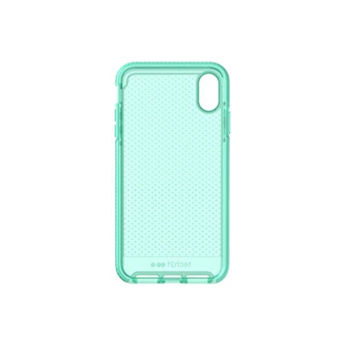 Tech21 Evo Check iPhone Case for Apple iPhone Xs Max Neon Aqua
