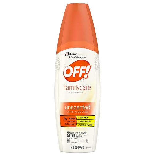 OFF! FamilyCare Insect Repellent IV Unscented 6 oz