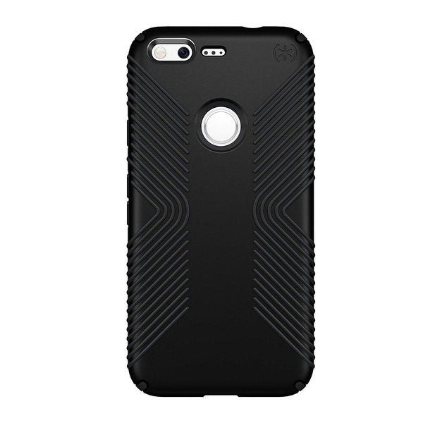 Speck Products Presidio Grip Cell Phone Case for Google Pixel XL - Black/Black