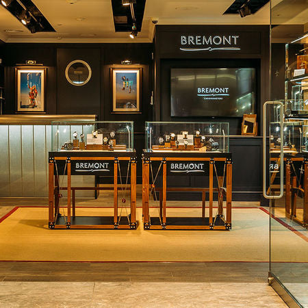 Bremont Canary Wharf Front of Store Shot