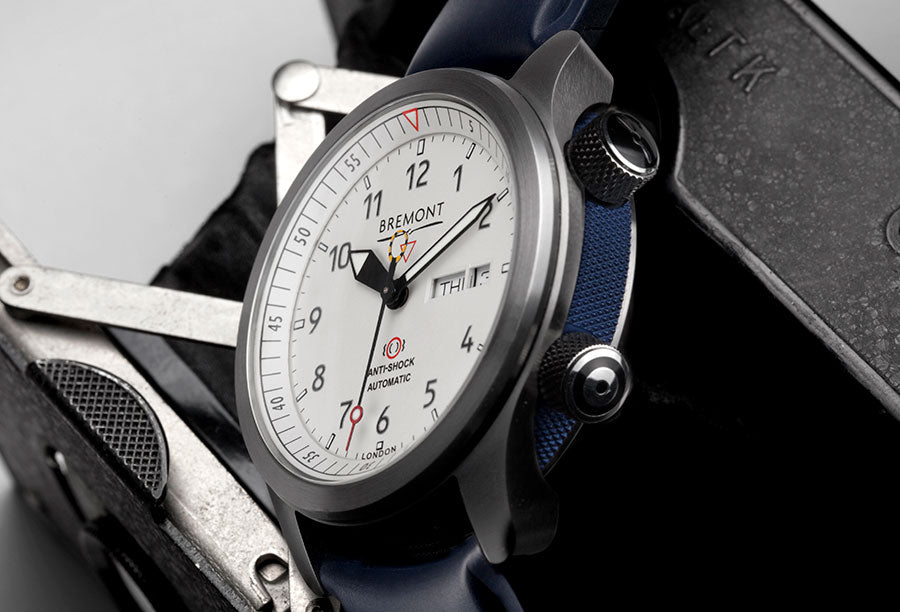 Bremont-MBII-White-blue-Lifestyle