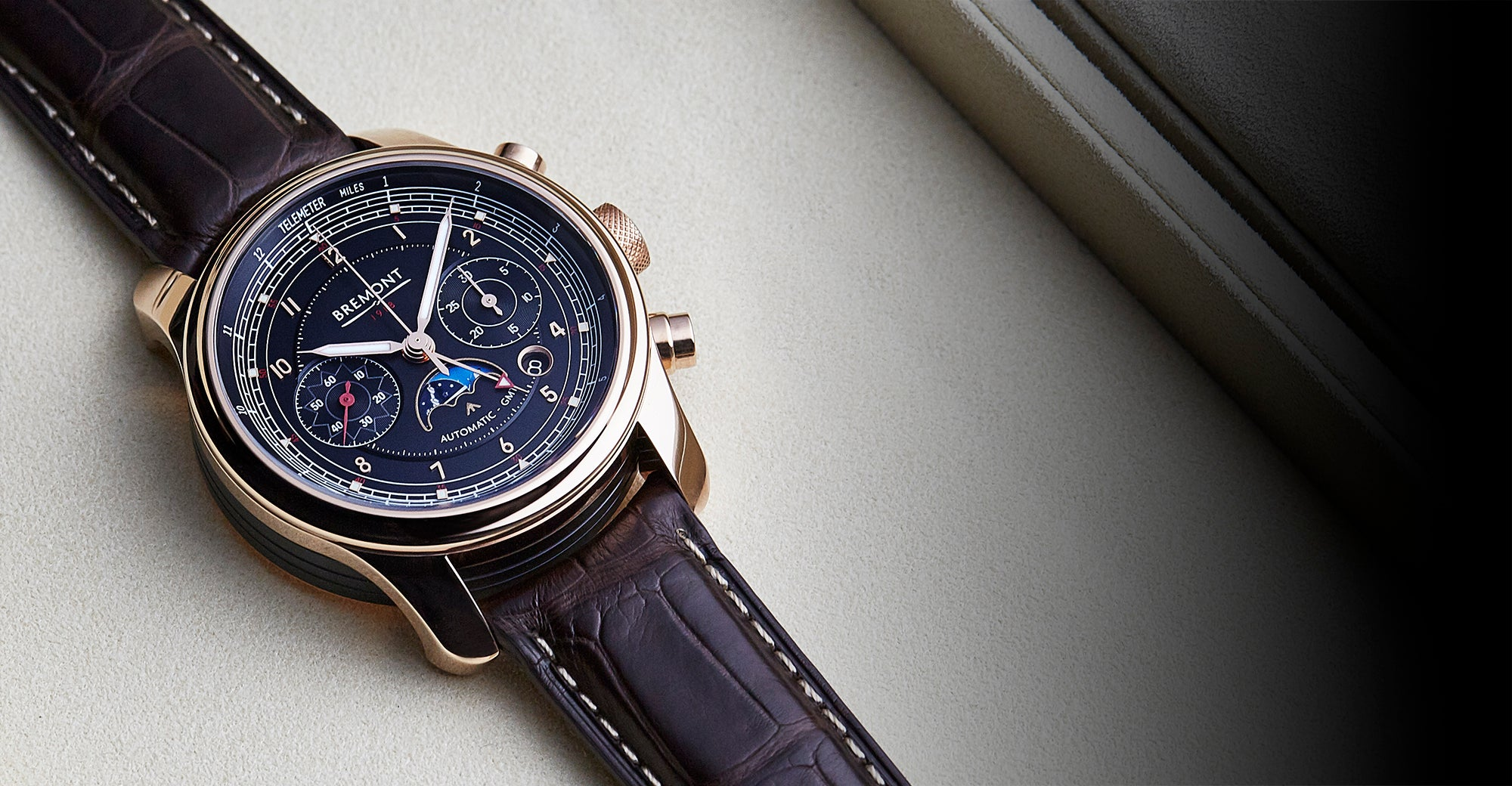 Bremont 1918 Rose Gold Hero