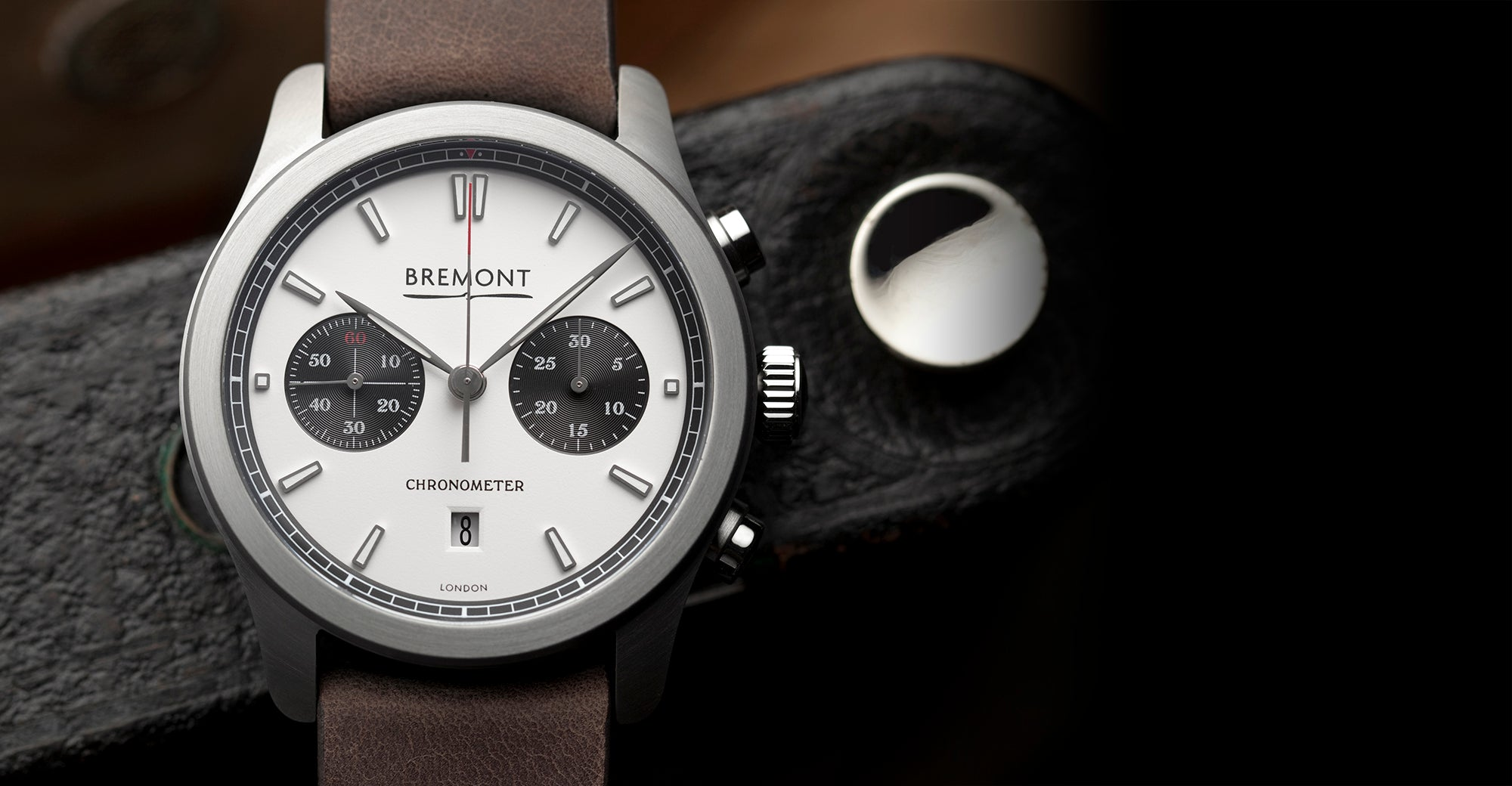 Bremont ALT1-C White Black Hero