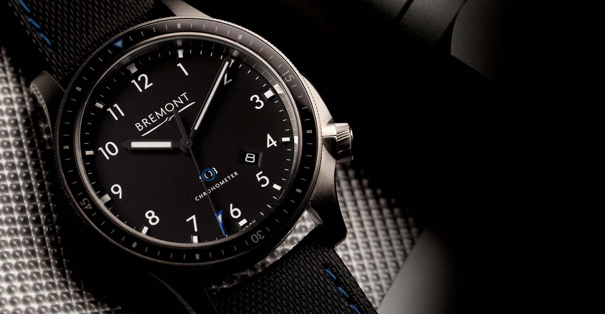 Bremont Boeing Model 1 Black Hero