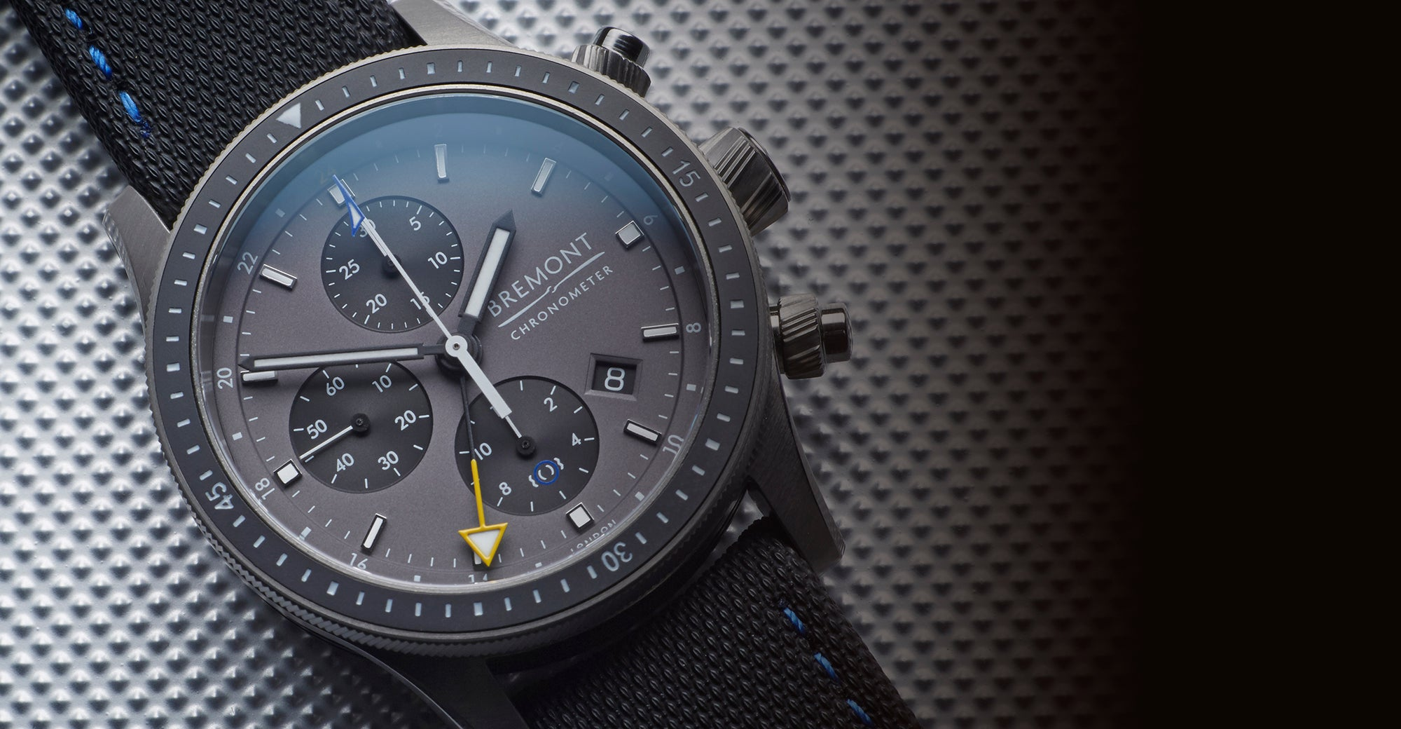 Bremont Boing Model 247 Ti GMT Hero
