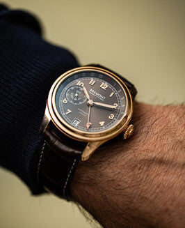 Rose Gold Bremont H-4 Hercules Limited Edition Watch