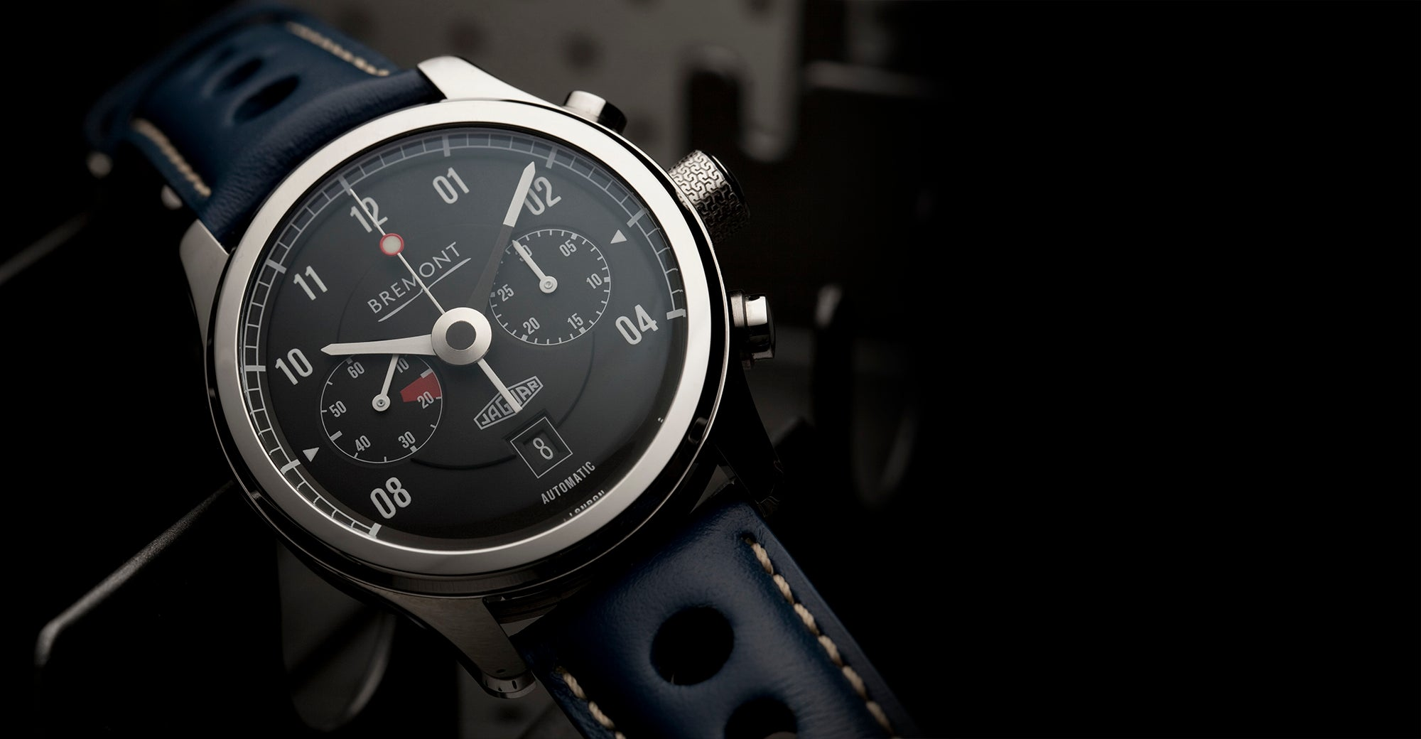 Bremont Jaguar MKII Black Hero