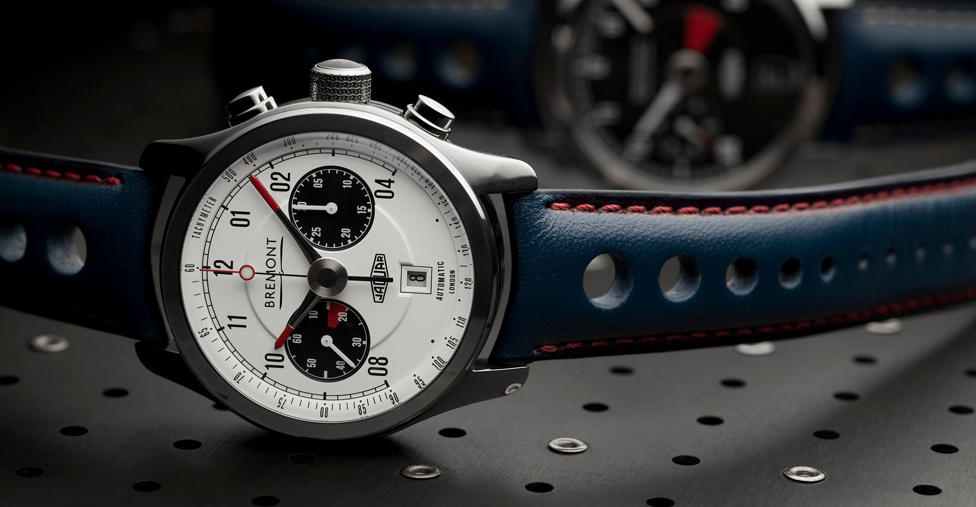 Bremont Jaguar MKII White Hero