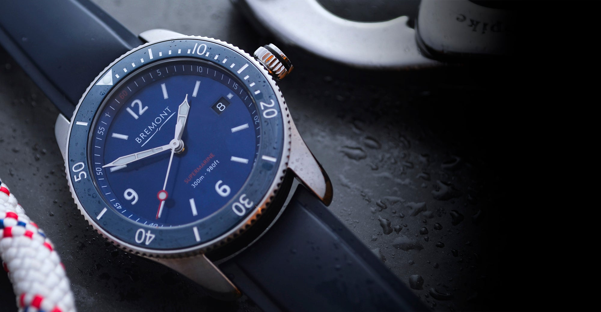 Bremont S300 Blue Hero