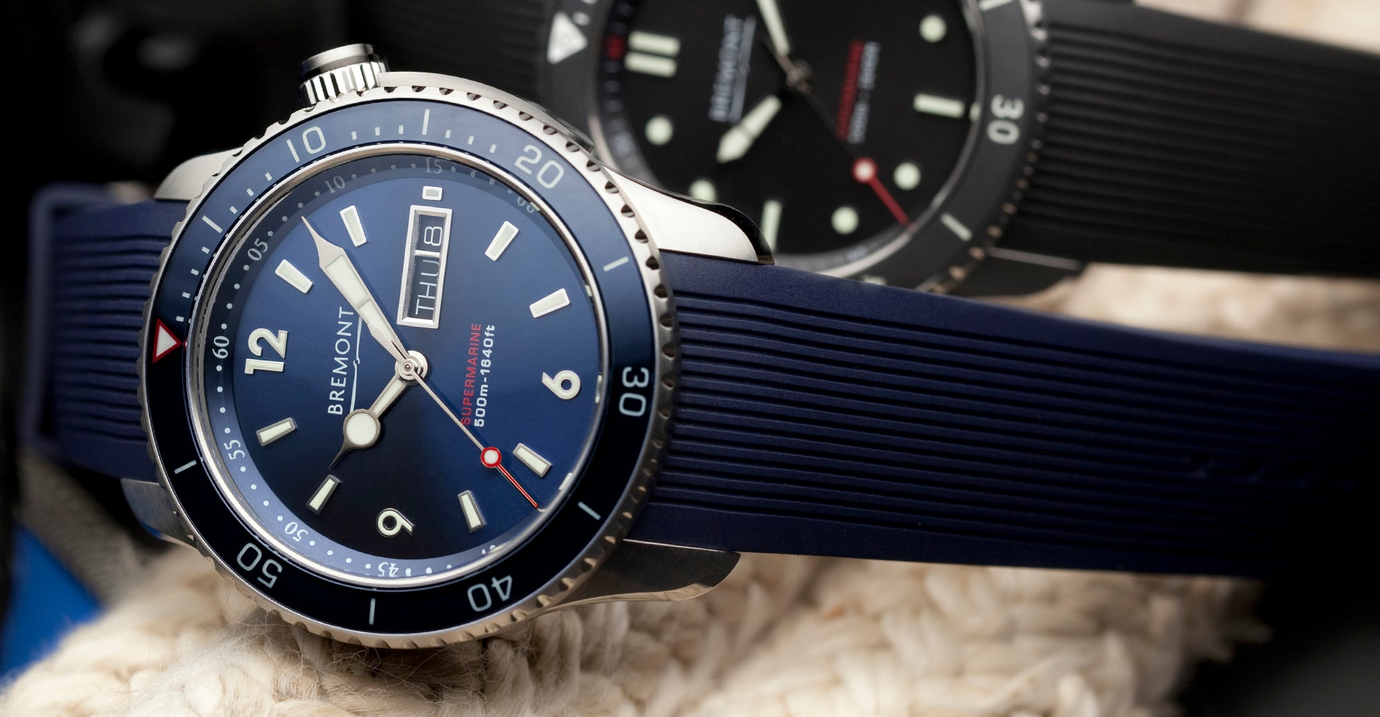 Bremont S500 Blue Hero