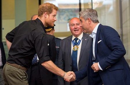 Prince Harry at Bremont Invictus Games UK team announcement