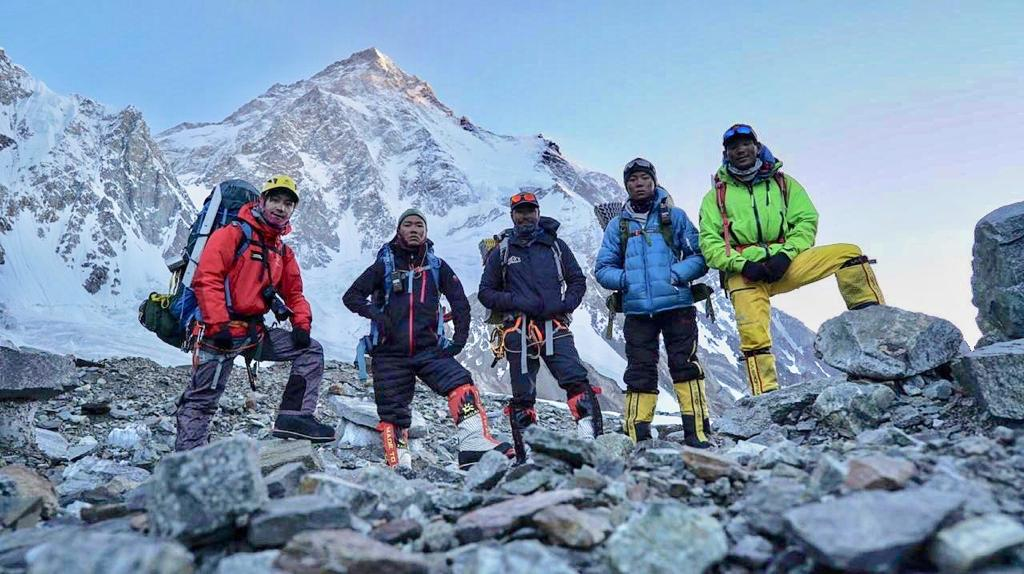 Nims K2 summit