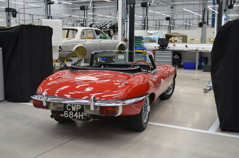 Nick's E-Type Jaguar